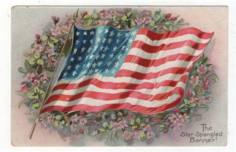 Early Decoration/Memorial Day Post Card, The Star-Spangled Banner, Raphael Tuck