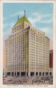 Hotel Manger At North Station Boston Massachusetts 1937