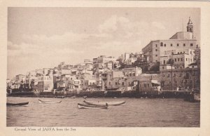 JERUSALEM, Israel, 00-10's; Mont Sion, General View Of Jaffa From The Sea, Boats