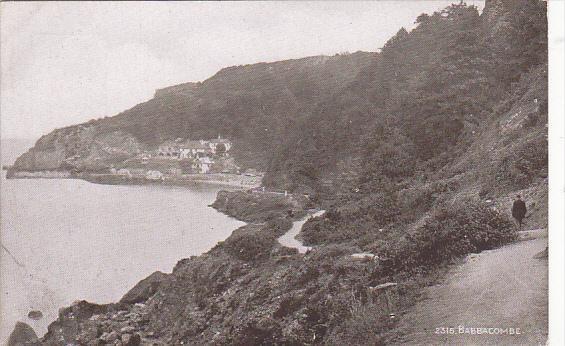 England Torquay Babacombe Coastal Scene