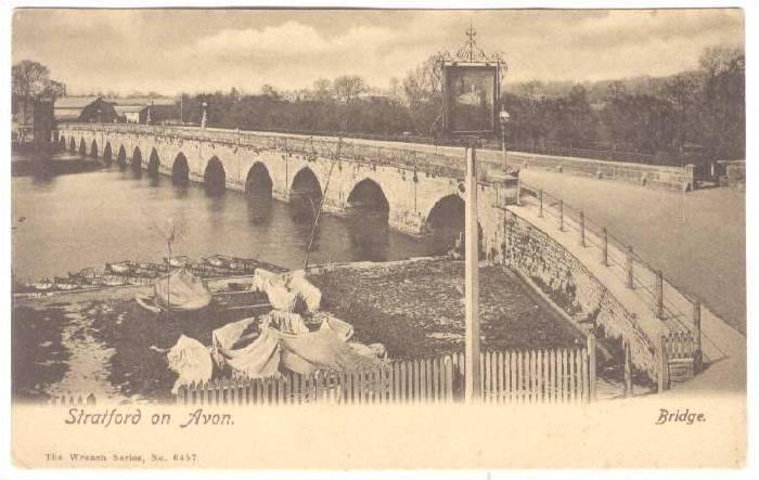 Bridge, Stratford On Avon (Warwickshire), England, UK, 1910-1920s