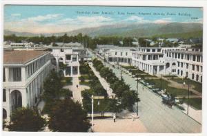 King Street Jamaica 1920s? postcard