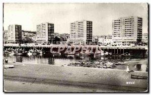 Old Postcard Boulogne Sur Mer The Port Buildings