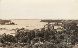 RP: Deer Isle , Maine, 1930-40s ; Village & Harbor