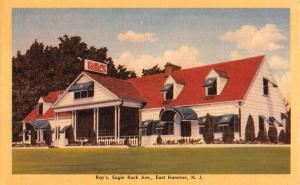 Hanover New Jersey Rays Eagle Rock Ave Street View Antique Postcard K32710