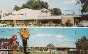 SANTEE , South Carolina, 40-60s ; Clarks Restaurant, U.S. 301, Clarks Motel