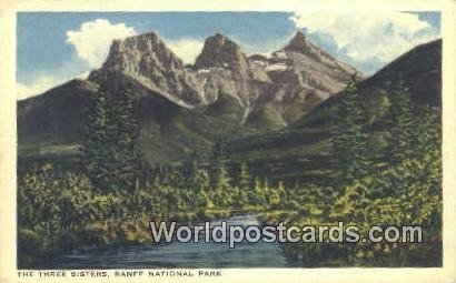 Three Sisters Banff National Park Canada 1940 Missing Stamp