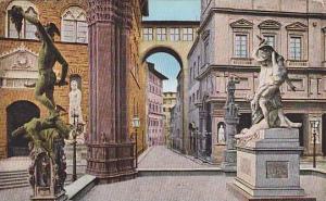 Interno Della Loggia Dei Lanzi, Firenzi (Tuscany), Italy, 1900-1910s