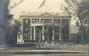 Real Photo - College Hall Dartmouth NH 1908