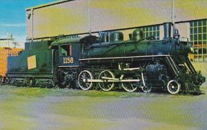 Canadian National Railway Old 1158 Locomotive