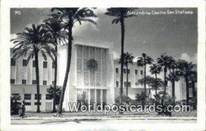 Casino San Stefano Alexandria Eqypt 1948