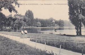 France Vincennes Lac Daumesnil Vue Pamoramique