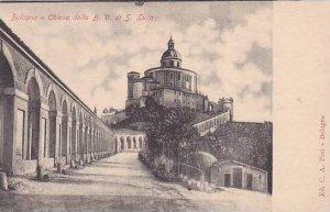 Italy Bologna Chiesa della B V di S Luca