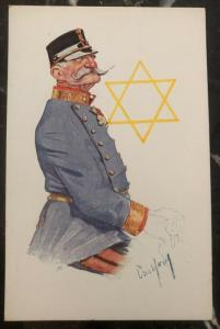 1938 Germany Mint Postcard Eternal Jew Museum Exhibit Judaica The General