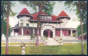 Beyer Home Winona Lake Indiana used c1910