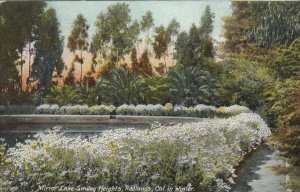 REDLANDS , California, 1900-10s; Mirror Lake, Smiley Heights in Winter