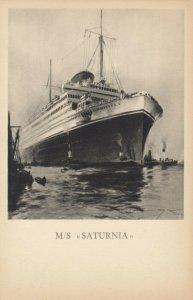 Cosulich Line Trieste Ocean Liner M/SSATURNIA , 1910-30s