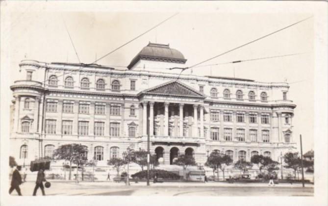 Brasil Rio de Janeiro Library & Palace Of Arts Real Photo
