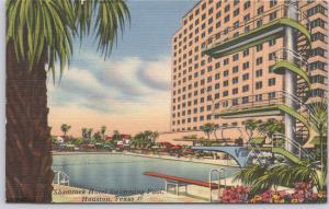 Houston, Texas, Shamrock Hotel Swimming Pool -