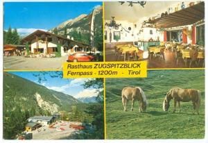Austria, Rasthaus ZUGSPITZBLICK, Tirol, used Postcard