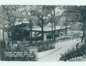 1950's rppc NICE VIEW Interlochen - Near Garfield & Traverse City MI i7649