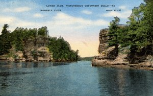 WI - The Dells. Lower Jaws, Romance Cliff, High Rock