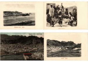 ADEN YEMEN 16 Vintage Postcards with BETTER Mostly pre-1920