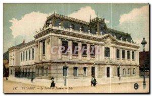 Old Postcard Belfort Courthouse