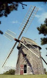 Grist Mill, Chatham, Cape Cod, Massachusetts, USA Windmills Postcard Post Car...