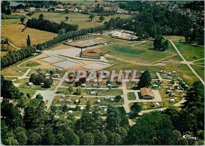 Modern Postcard Bourbon Archambault Allier Aerial view of the park and recrea...
