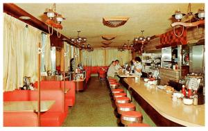 New Jersey Sayreville ,  Peter Pank Colonial Diner ,  Interior