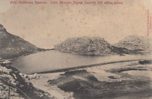 CAPE TOWN , South Africa , 1900-10s ; Hely-Hutchinson Reservoir