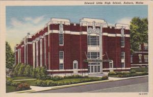 Edward Little High School Auburn Maine Curteich