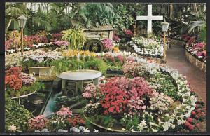 Missouri, St. Louis, Forest Park, Jewel Box, Easter show, unused