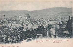 Italy Firenze Panorama della Citta vista da San Miniato