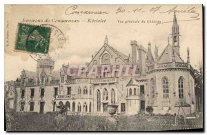 Old Postcard Around Concarneau Keriolet General view of the Chateau