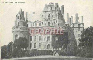 Postcard Old Chateau of Brissac