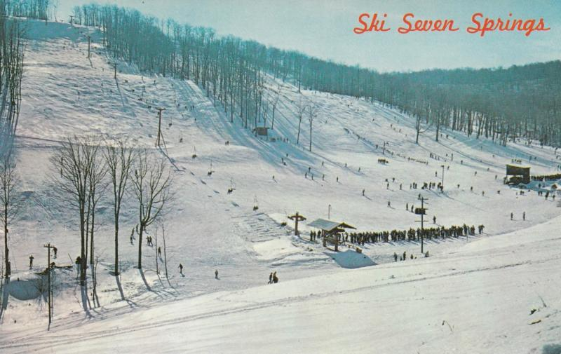 SEVEN SPRINGS , Pennsylvania , 1950-60s ; Skiing