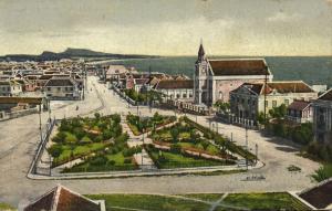 curacao, D.W.I., WILLEMSTAD Wilhelmina Park, Synagogue Judaica (1919) Esperanto