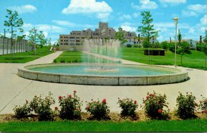 Missouri Columbia Fountain Mall & Hospital University Of Missouri