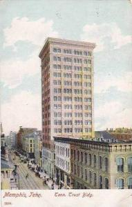 Tennessee Memphis Tennessee Trust Bank Building 1907