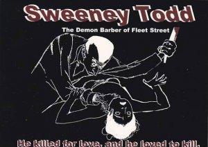 Sweeney Todd The Demon Barber Of Fleet Street Athenaeum Studio Theatre Chicago