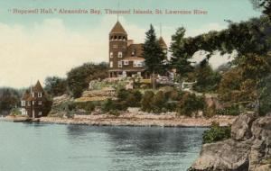 ALEXANDRIA BAY , New York , 00-10s ; Hopewell Hall, Thousand Islands # 2