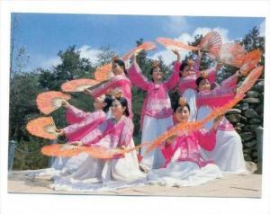 Korea , South, 60-70s   Fan Dance (Puch'ae ch'um)