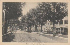 GRAFTON , Vermont , 1900-10s ; Main Street