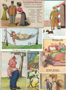 Funny Postcards Comic Beautiful Women and more Postcard Lot of 21 01.13