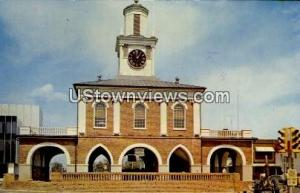 Old Market House Fayetteville NC 1970