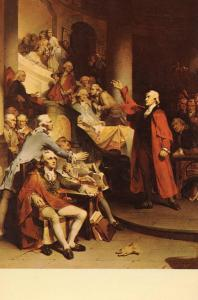 Patrick Henry before the House of Burgesses