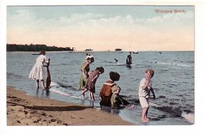 Children on Beach, Winnipeg Manitoba,