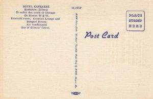 Kankakee , Illinois , 1930s-40s ; Hotel Kankakee